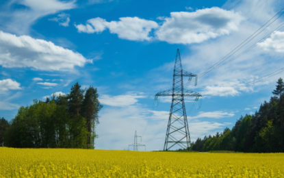 Power lines and pylons get pretty in £500m project