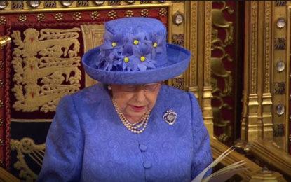 Queen's Speech: Energy price cap dropped