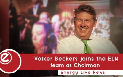 Volker Beckers becomes ELN Chairman
