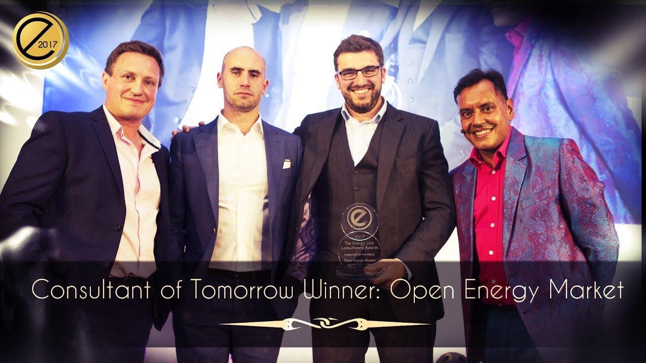 Consultant of Tomorrow Winner: Open Energy Market - Energy Live News