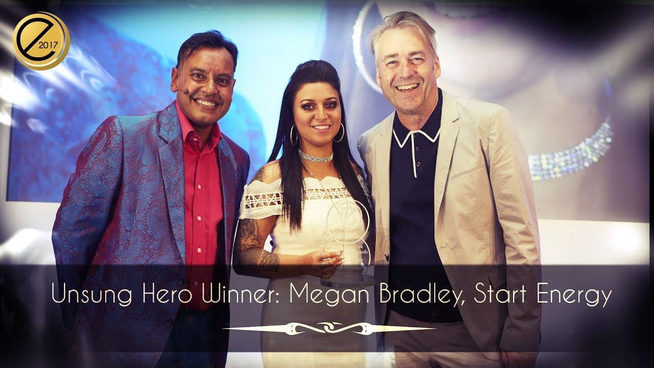 Unsung Hero Winner: Megan Bradley, Start Energy