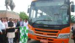 Tata Motors unveils India's first biomethane bus