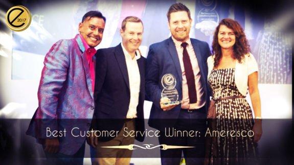 Best Customer Service Winner – Ameresco