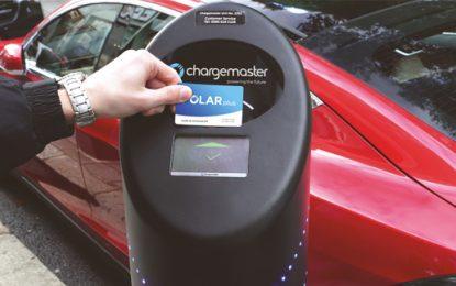 UK's largest EV charging network goes 100% green