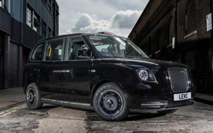 Black cabs go green in EV rebrand