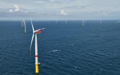 Sandbank wind farm in Germany officially opens