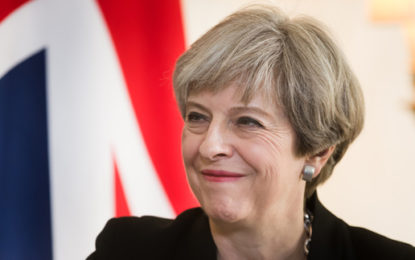 Theresa May urged to show leadership towards zero carbon economy