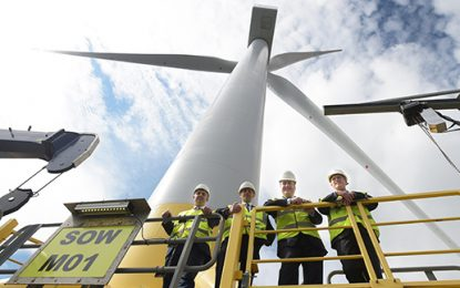 Funding of £460k announced for Scottish wind facility