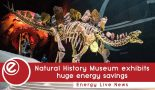Natural History Museum exhibits £54k annual energy savings