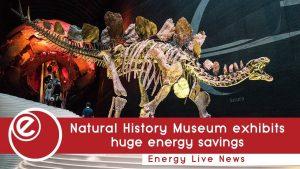 Natural History Museum exhibits £54k annual energy savings