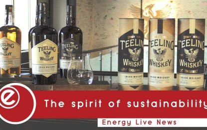 Teeling Whiskey's green spirit
