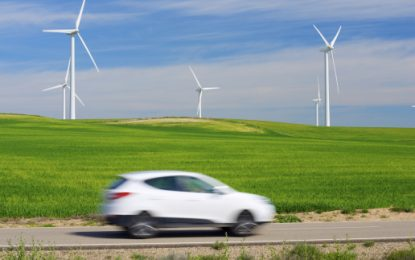 EV emissions fall by two-thirds as renewables kick in