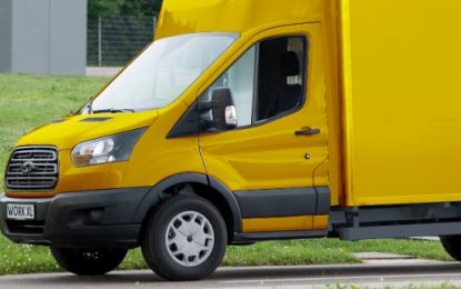 Ford marks electric post van for express delivery