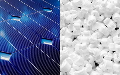 Solar gets squeeky with polystyrene power-up