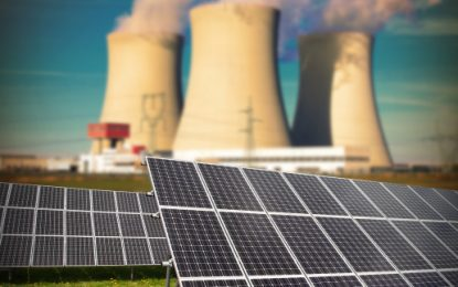 Solar capacity to rival nuclear by end of the year