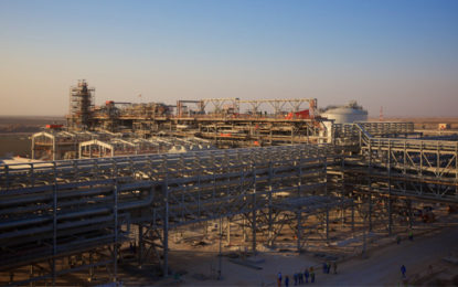 BP starts production from giant Oman gas field