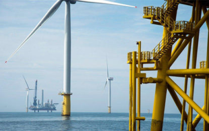 Last of 67 turbines installed at UK offshore wind farm