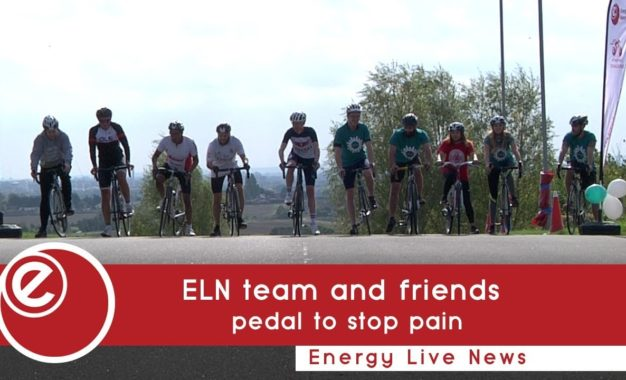 ELN and friends pedal to stop pain
