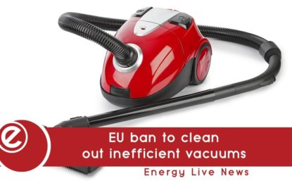 New EU ban to clean out inefficient vacuums