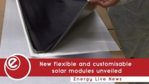 New flexible and customisable solar modules unveiled