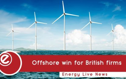 British firms secure almost half of UK's offshore deals
