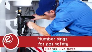 Plumber sings for gas safety