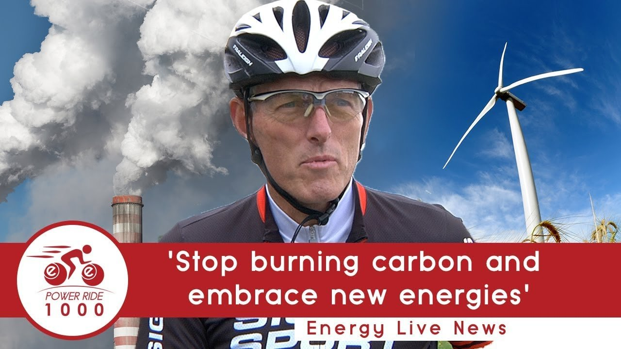 'Stop burning carbon and embrace new energies'