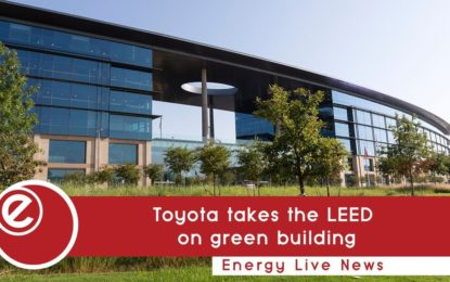 Toyota takes the LEED on green building in Texas