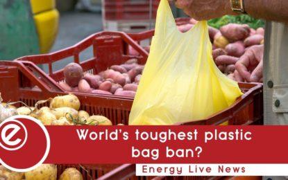 World's toughest law against plastic bags?