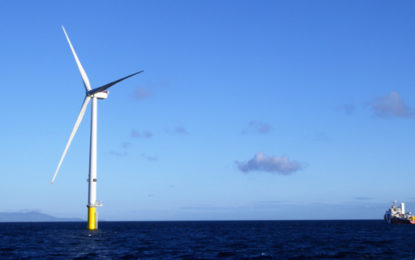 First power produced at 659MW UK offshore wind farm