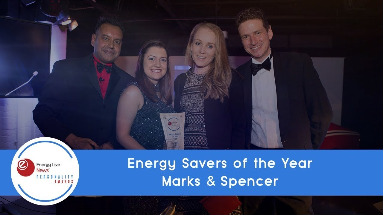 Marks and Spencer wins Energy Savers of the Year