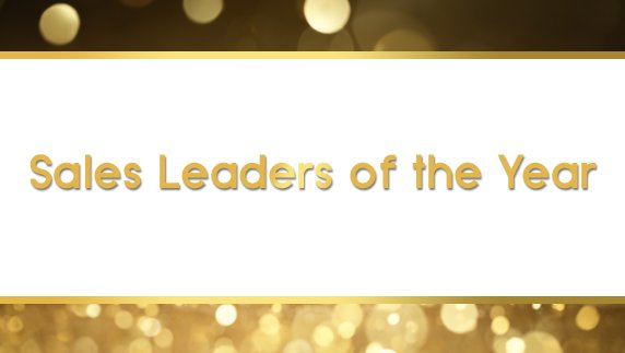 Sales Leaders of the Year