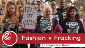 Fashion v Fracking