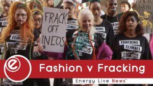 Fashion v Fracking