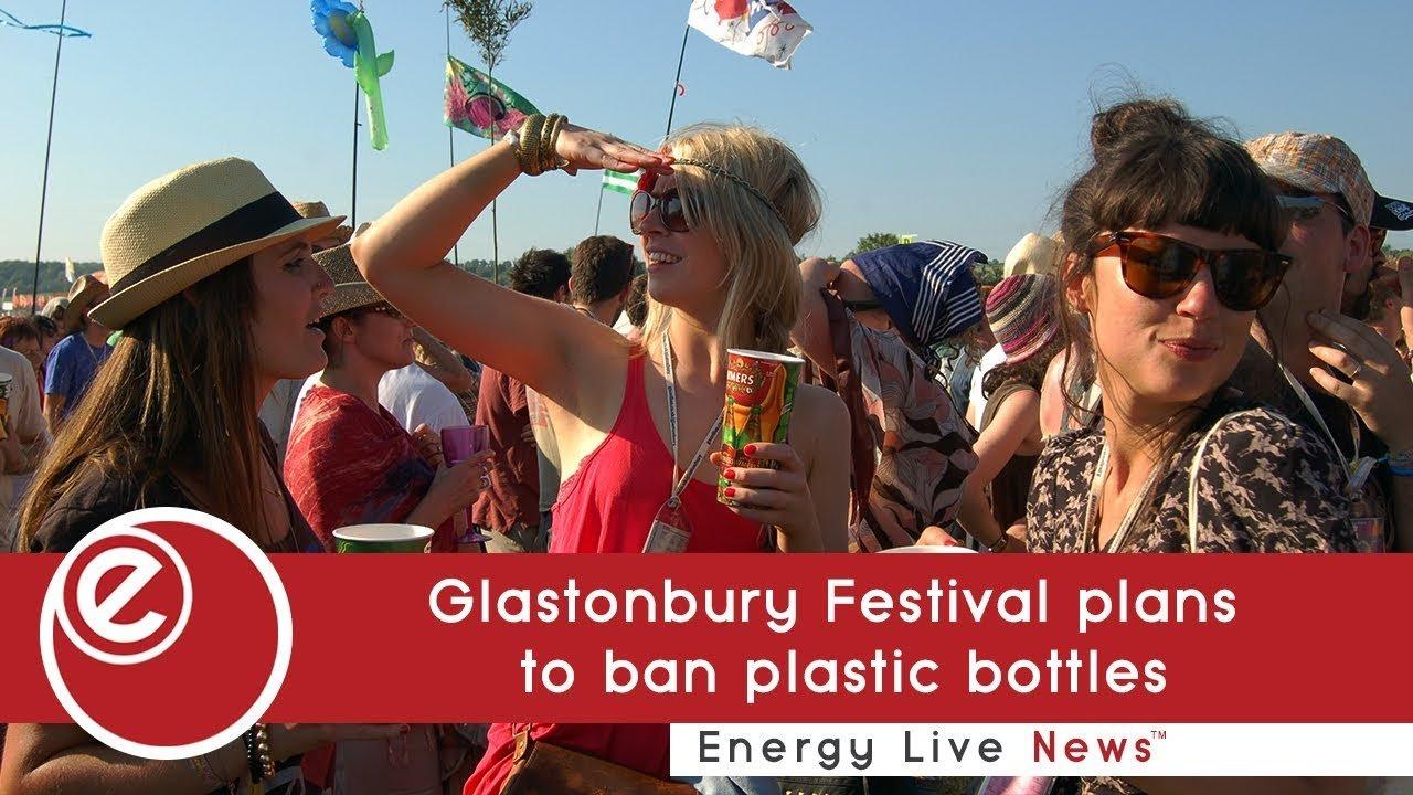 Glastonbury Festival plans to ban plastic bottles