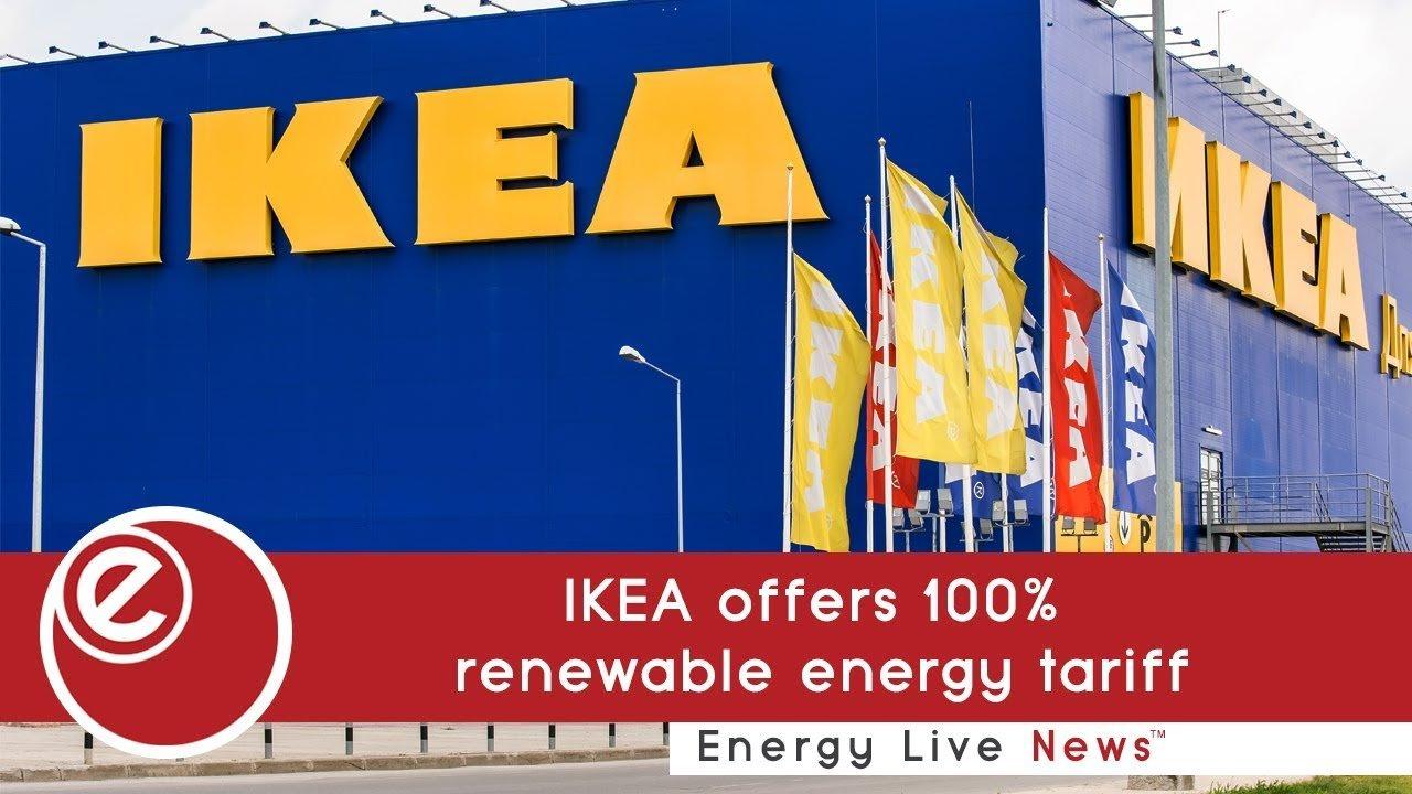 IKEA UK offers 100% renewable energy tariff