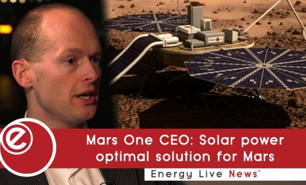 Bas Lansdorp's 'crazy idea' to produce solar panel parts on Mars