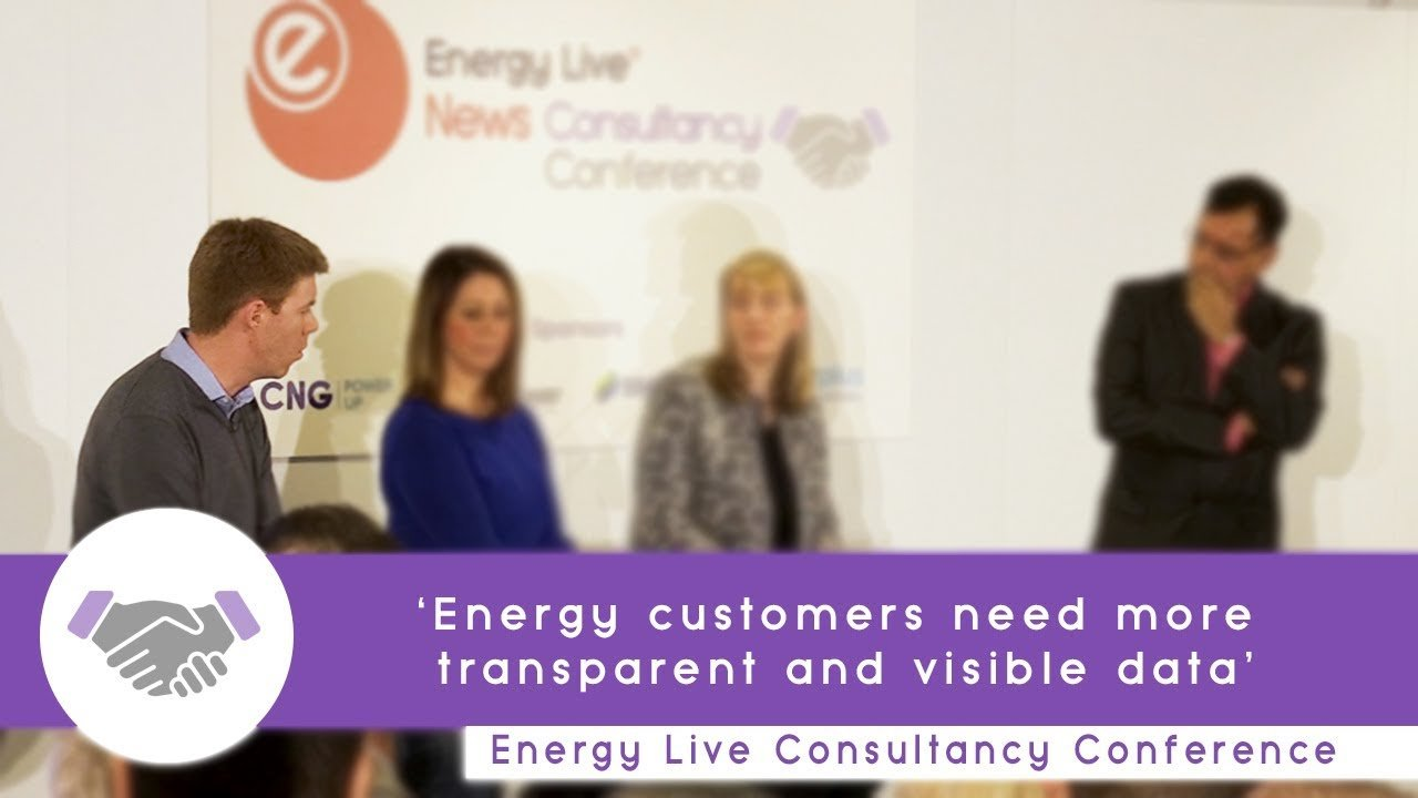 'Energy customers need more transparent and visible data'
