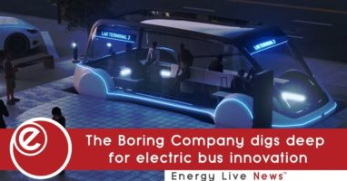 The Boring Company digs deep for electric bus innovation