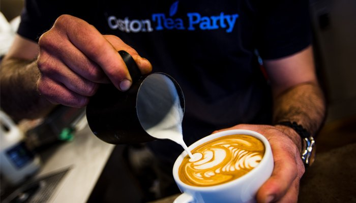 Boston Tea Party 'first' to ban plastic coffee cups