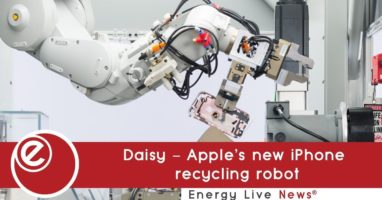 Daisy – Apple's new iPhone recycling robot
