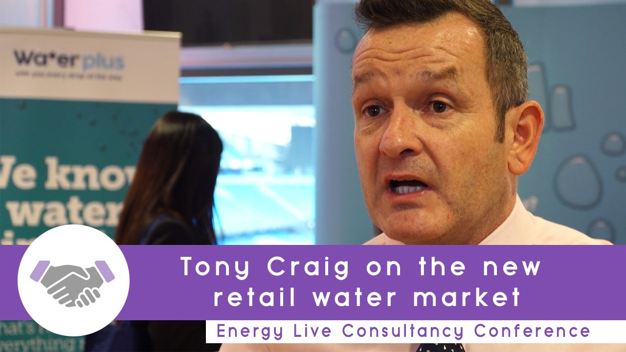 Water Plus' Tony Craig on new retail water market