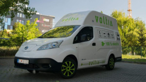 French delivery firm orders package of 100 'Voltia' electric vans