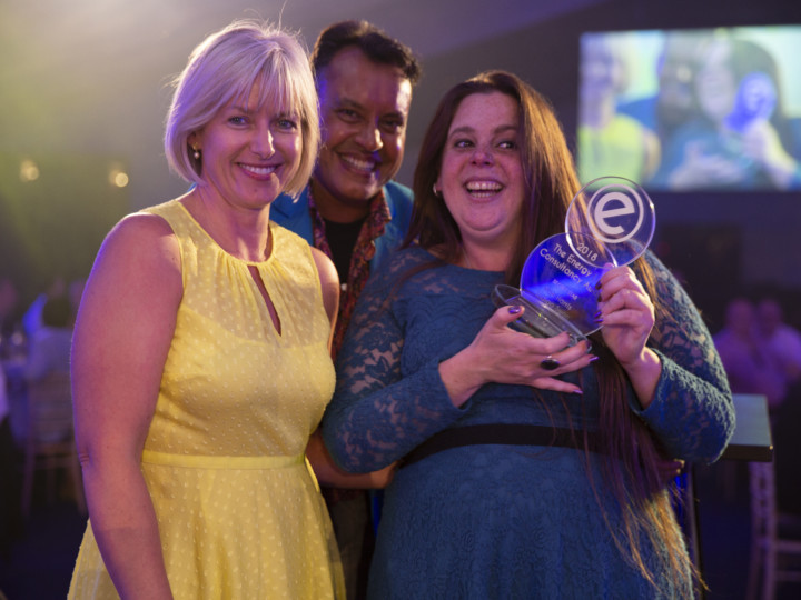Rae Harris from Indigo Swan wins the Secret Star award, sponsored by ELN