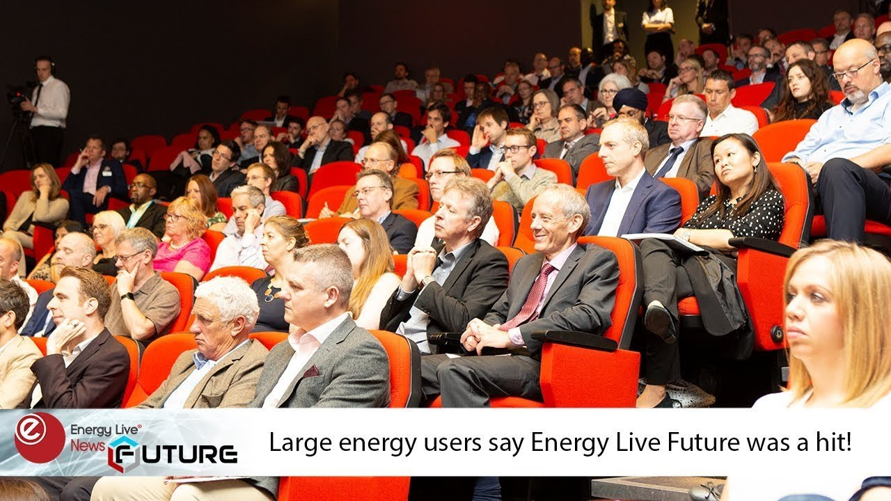 Large energy users say Energy Live Future was a hit!