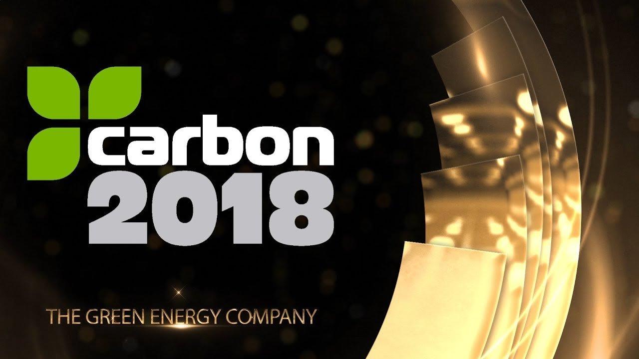 TELCA 2018 – Carbon 2018 takes the Green Energy Company award