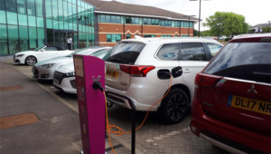 Anglian Water rolls out EV charging points