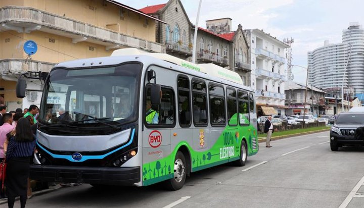The Munility Of Panama City Recently Deployed An Electric Bus Image