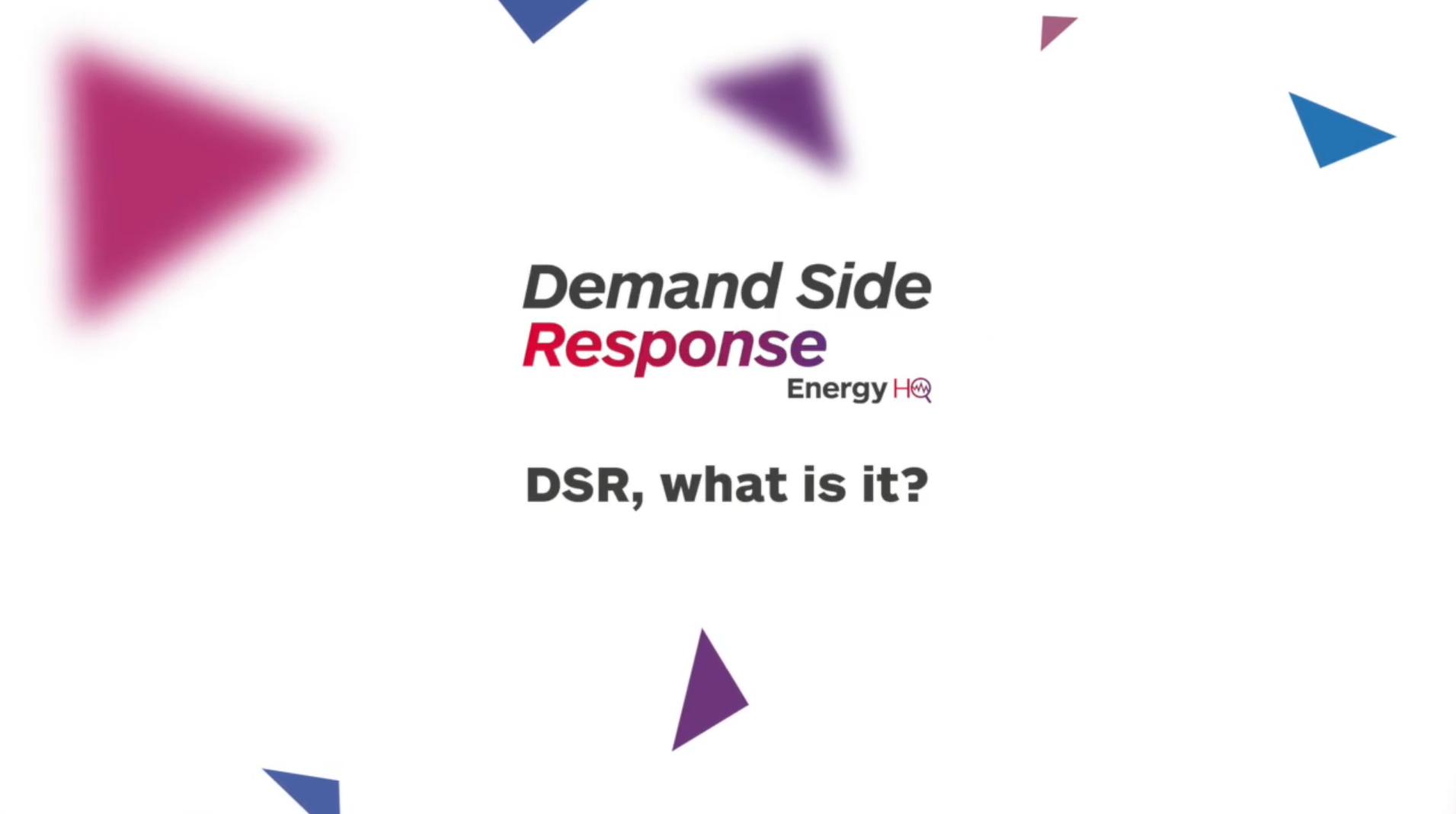 DSR, what is it?