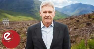 Harrison Ford: Protecting natural world is key to tackling climate change